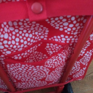 KNALLA Shopping Bag Back Pocket