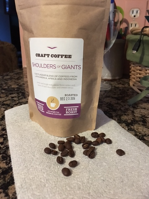 Shoulders of Giants Coffee
